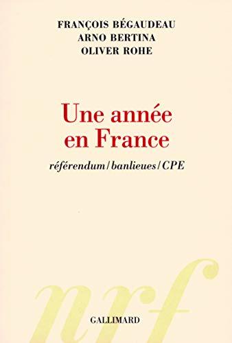 Une année en France